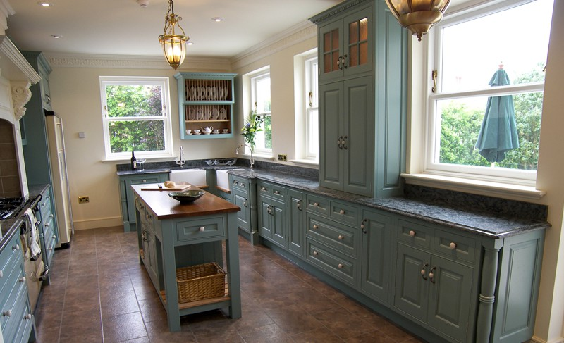 Hand Painted Kitchen Design Ideas ~ Matthew james furniture edwardian style kitchen farrow